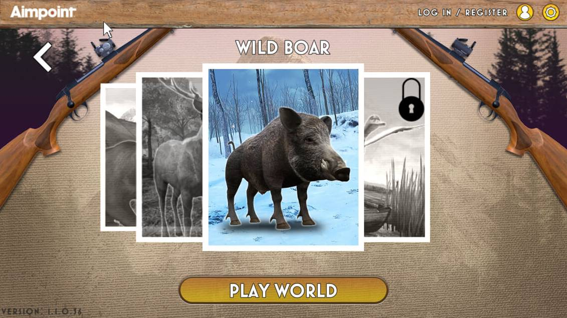Aimpoint Online Game Wild Boar PlayWorld
