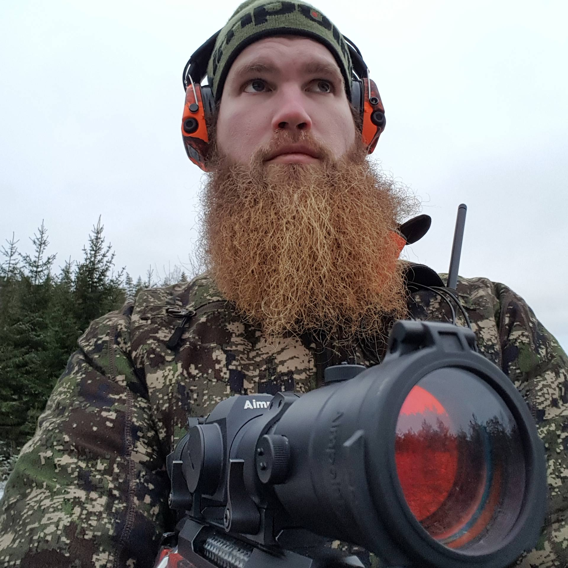 Dick Larsson - A driven hunter - Aimpoint red dot sight